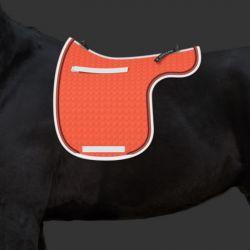 Tapis Mattes personnalisable forme de selle cheval - Le Paturon