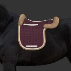 Tapis Mattes personnalisable forme de selle amortisseur laine cheval - Le Paturon