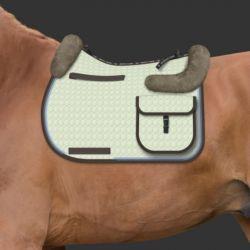 Tapis Mattes personnalisable randonnée cheval amortisseur mouton - Le Paturon