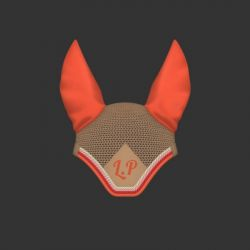 Bonnet Mattes personnalisable anti-mouches cheval coton égyptien avec broderie - Le Paturon