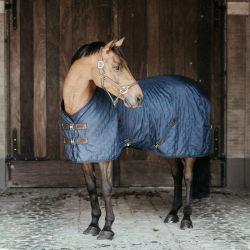 Couverture écurie cheval 0g Kentucky marine - Le Paturon