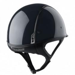 Casque Samshield Shadowrace équitation cross noir glossy - Le Paturon