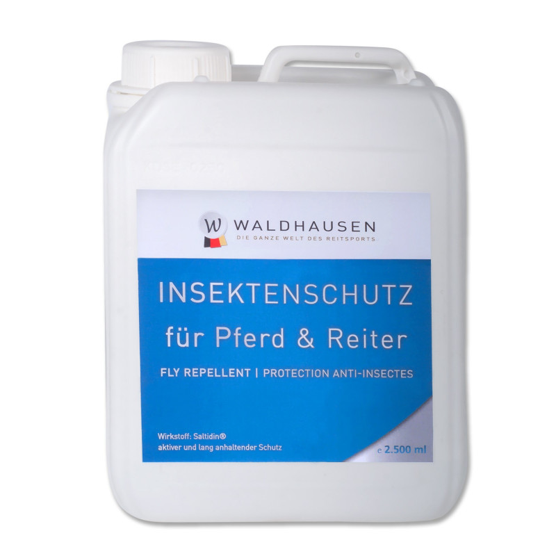 Répulsif anti-mouche cheval Waldhausen 2.5L - Le Paturon