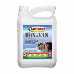 Désinfectant box et van Saniterpen à diluer 5L - Le Paturon