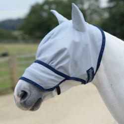 Masque anti-mouche et anti-UV Bucas cheval intégral Buzz Off - Le Paturon