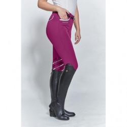 Pantalon équitation femme Harcour Jalisca Fix System Grip mûre - Le Paturon