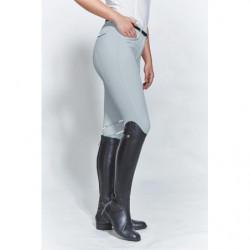 Pantalon équitation femme Harcour Jalisca Fix System Grip gris - Le Paturon