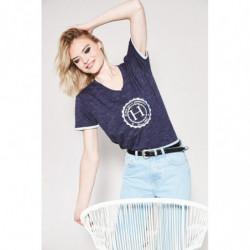 T-Shirt femme Harcour Havre marine - Le Paturon
