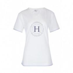 T-Shirt femme Harcour Havre blanc - Le Paturon