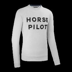 Sweat Summer Horse Pilot homme léger gris - Le Paturon