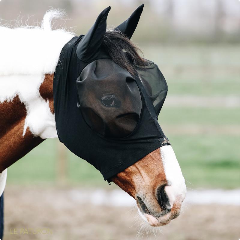 Masque anti mouche cheval slim fit Kentucky - Masque Lycra Anti-Mouche cheval - Le Paturon