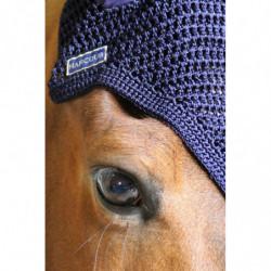 Bonnet anti-mouche Harcour Rubis Rider cheval - Le Paturon