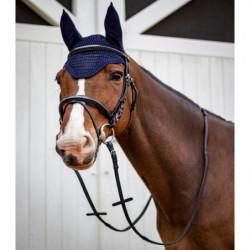 Bridon Harcour Kall Rider cheval et rênes noir - Le Paturon