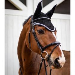 Bridon Harcour Kylie cheval et rênes Deluxe Rider - Le Paturon