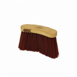 Bouchon Grooming Deluxe Kentucky poils longs bruns - Le Paturon