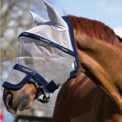 Masque anti-mouche cheval Rambo Horseware non traité Vamoose - Le Paturon