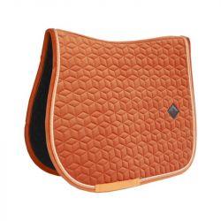 Tapis Velvet Kentucky orange - Le Paturon