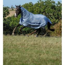 Couverture anti-mouches cheval Bucas Buzz Off couvre-cou amovible - Le Paturon