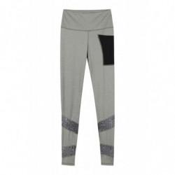 Pantalon Batida Harcour femme legging gris chiné - Le Paturon