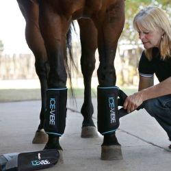 Guêtre massage et vibration Ice Vibe Horseware - Le Paturon
