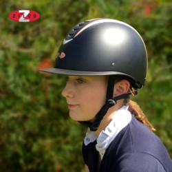 Casque équitation Zilco Oscar Quartz visière large - Le Paturon