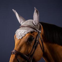 Bonnet Dy'on cheval Cordury anti-mouche - Le Paturon