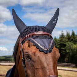 Bonnet Dy'on cheval Classique anti-mouche et bruit - Le Paturon