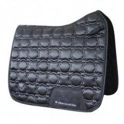 Tapis Woof Wear Satin Vision dressage cheval noir - Le Paturon