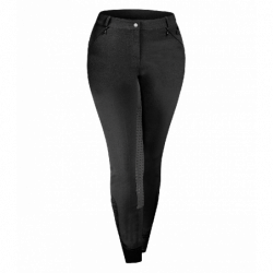 Pantalon équitation Elt femme Dalhia belles formes noir - Le Paturon
