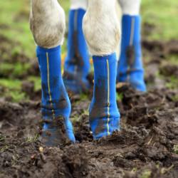 Guêtres Equilibrium gale de boue cheval Close Contact Chaps velcro - Le Paturon