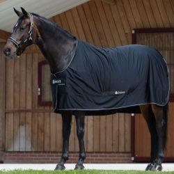 Couverture cheval Shamrock Power Bucas noir - Le Paturon