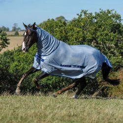 Chemise anti-mouches poney Buzz Off avec couvre-cou Bucas - Le Paturon