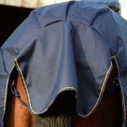 Couverture extérieur cheval Irish Turnout Extra 300g Bucas marine - Le Paturon