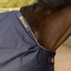 Couverture extérieur cheval Irish Turnout Extra 300g Bucas noir - Le Paturon