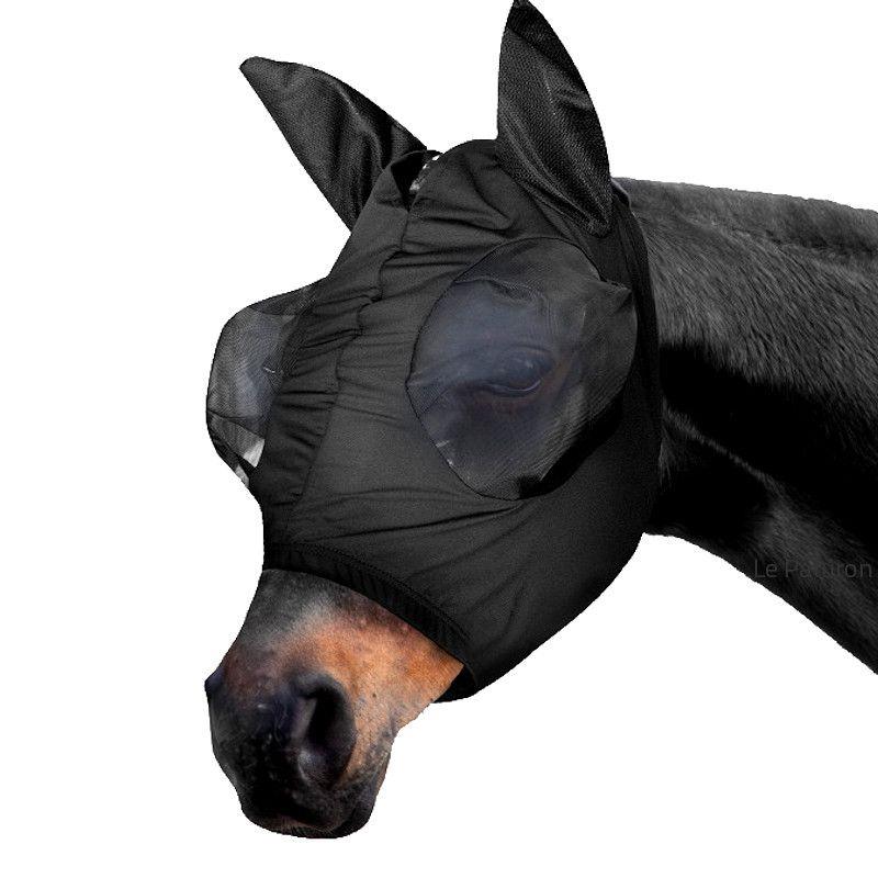 Masque anti-mouche cheval Waldhausen Puck lycra ajusté