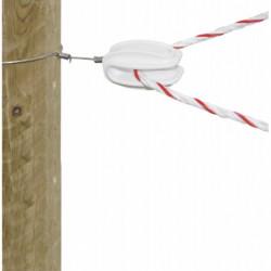 Isolateur tenseur angle olive pour corde et fil par set de 25 - Le Paturon