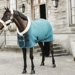 Kentucky Velvet couverture cheval 160g - Velvet Kentucky émeraude - Le Paturon