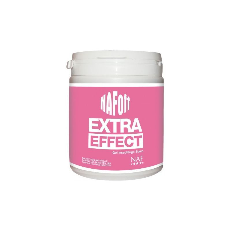 1 Off Extra Effect Anti mouches Cheval Naf,Naf Equine,Anti-Insecte et Anti-Mouche cheval pot gel 750ml - Le Paturon
