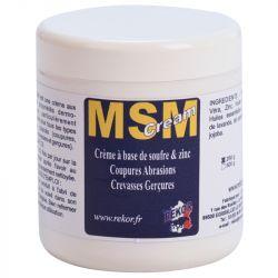 MSM Crème Rekor Dermo-réparatrice peau cheval - Le Paturon