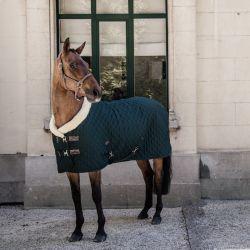 Couverture Show Rug Kentucky cheval 160g vert foncé - Le Paturon