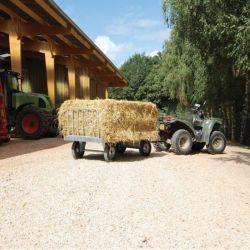 Chariot 4 roues galvanisé sans échelons La Gée - Le Paturon
