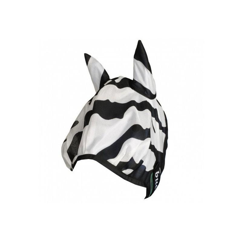 1 Masque anti mouche cheval, anti uv Buzz-off Zebra, Bucas, Le Paturon
