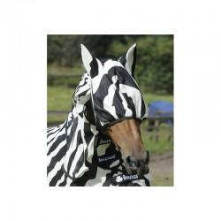 2 Masque anti mouche cheval, anti uv Buzz-off Zebra, Bucas, Le Paturon
