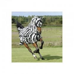 3 Masque anti mouche cheval, anti uv Buzz-off Zebra, Bucas, Le Paturon