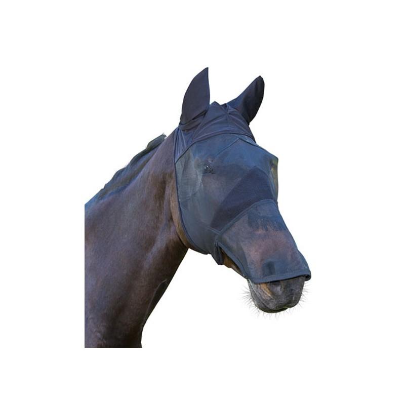 1 Masque anti-mouche cheval oreilles naseaux - Le Paturon