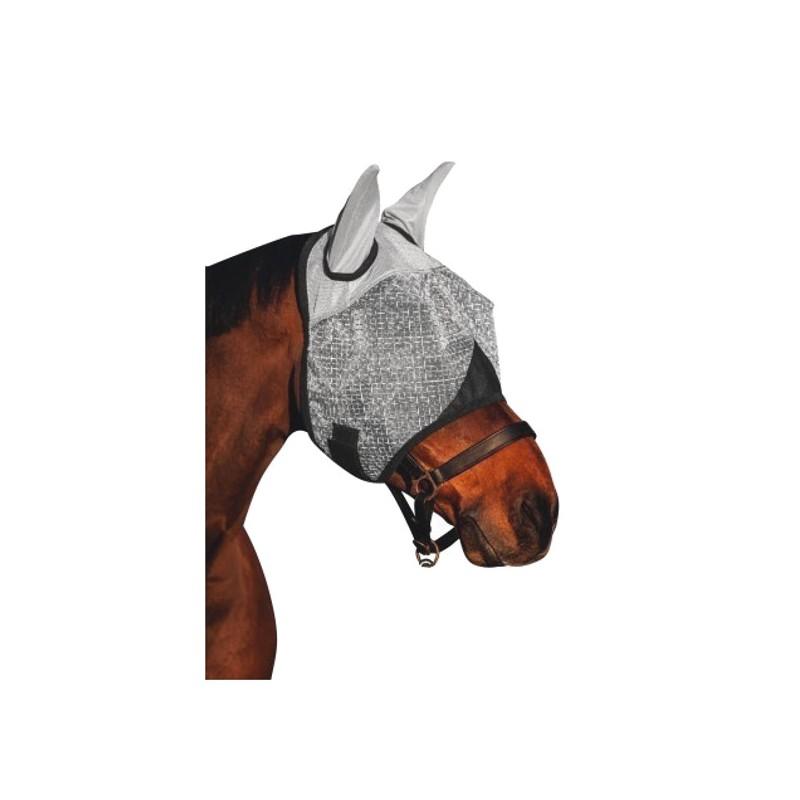 1 Masque anti uv cheval, masque anti-mouche cheval - Le Paturon