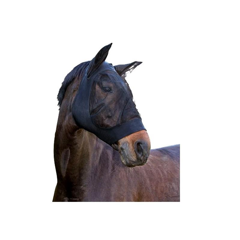 1 Masque anti-mouche cheval lycra, Fino Strech - Le Paturon