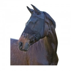 1 Masque anti mouche cheval, masque franges, Cavalhorse, Le Paturon