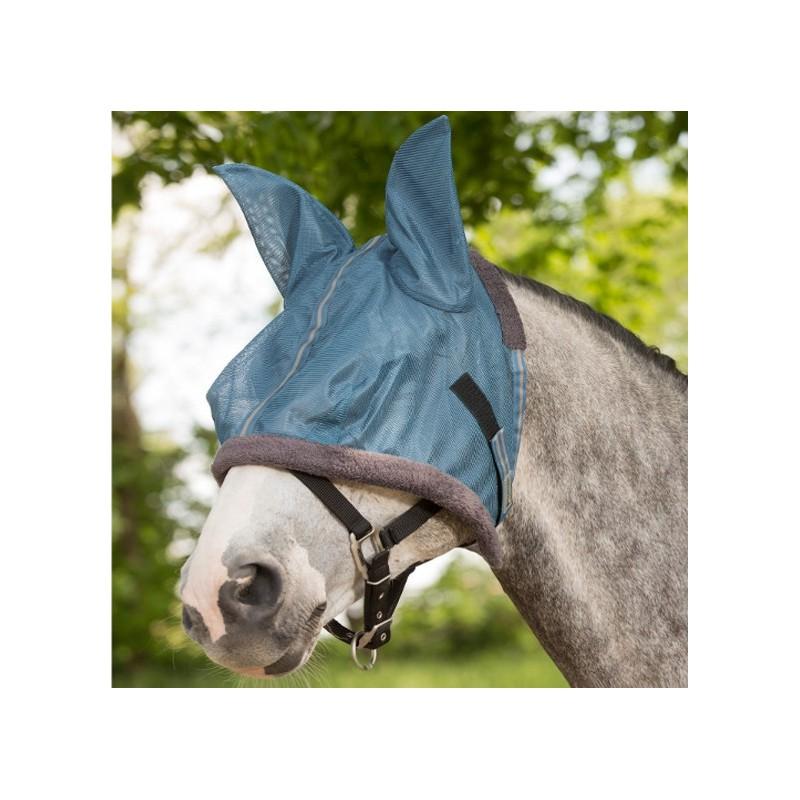 1 Masque anti-mouche cheval, masque tête cheval, Protect Waldhausen - Le Paturon