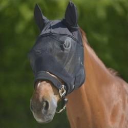 1 Masque anti mouche cheval, avec oreilles Premium, Waldhausen, Le Paturon